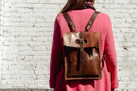 Интересный городской рюкзак